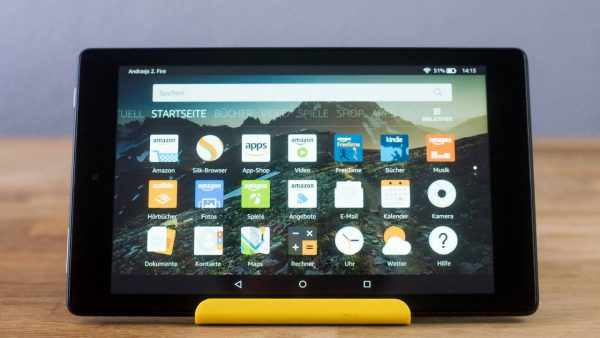 Amazon Fire HD 8 Software