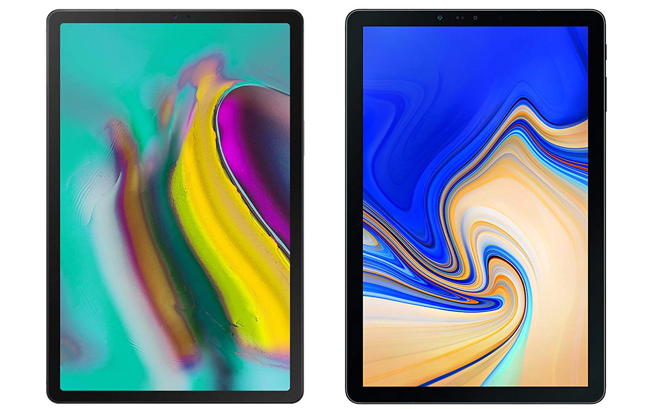Comparison: Samsung Galaxy Tab S5e vs  Galaxy Tab S4