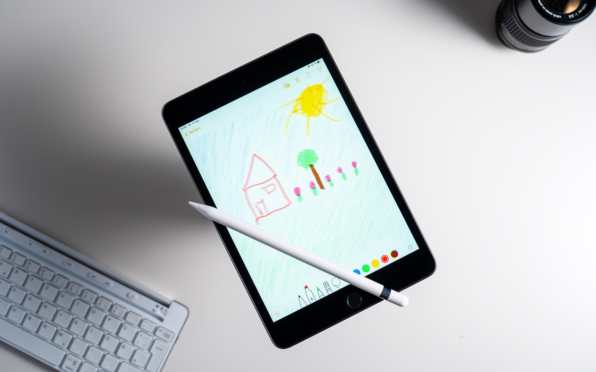 iPad Mini 2019 with Apple Pencil