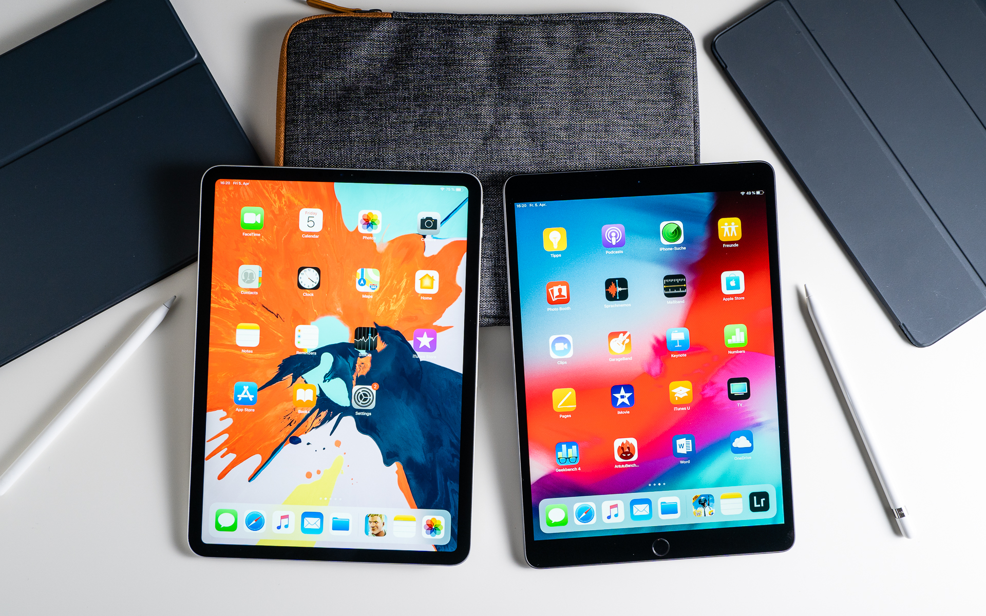 iPad Air vs iPad Pro comparison