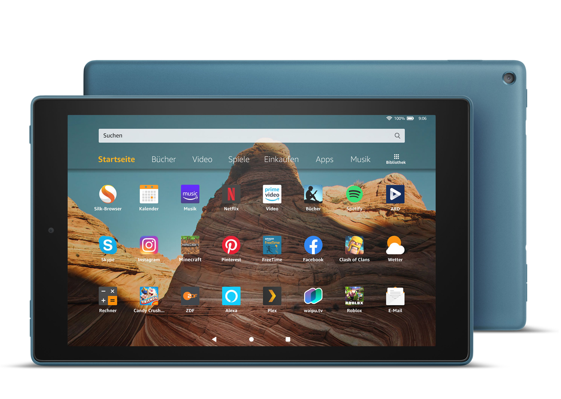 Amazon Fire HD 10 2019 blue