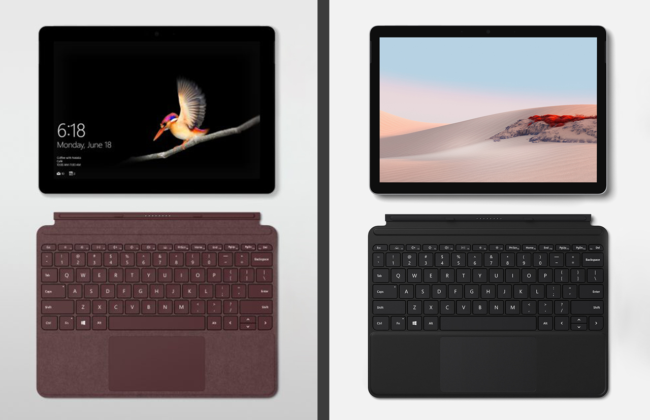 Microsoft Surface Go vs Go 2