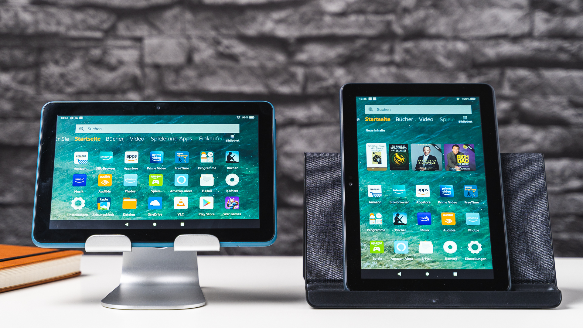 Amazon Fire HD 8 Plus vs HD 8