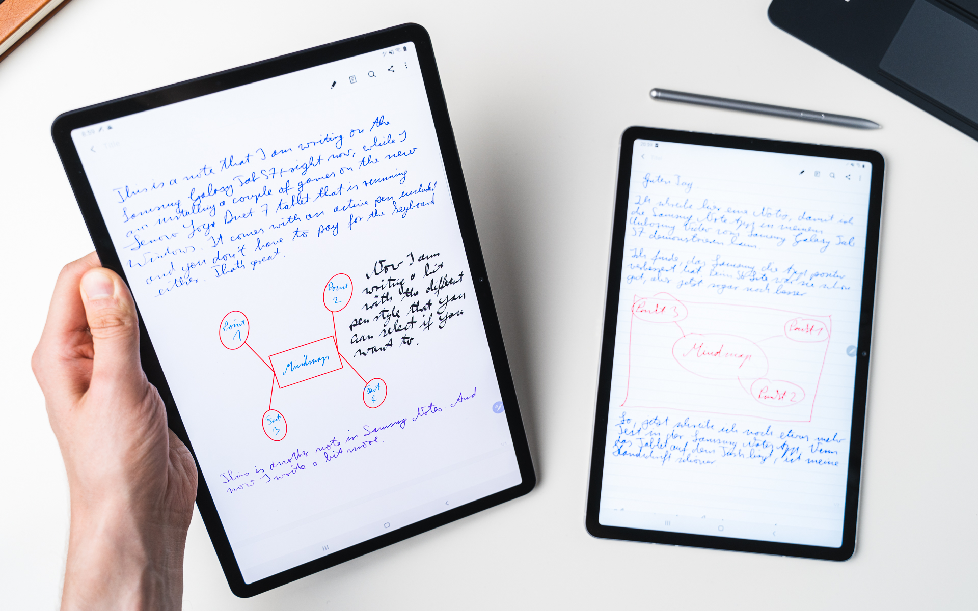 Samsung Galaxy Tab S7 S Pen features